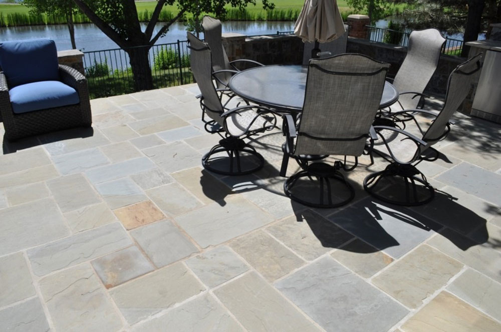 Patio installation in Harford County