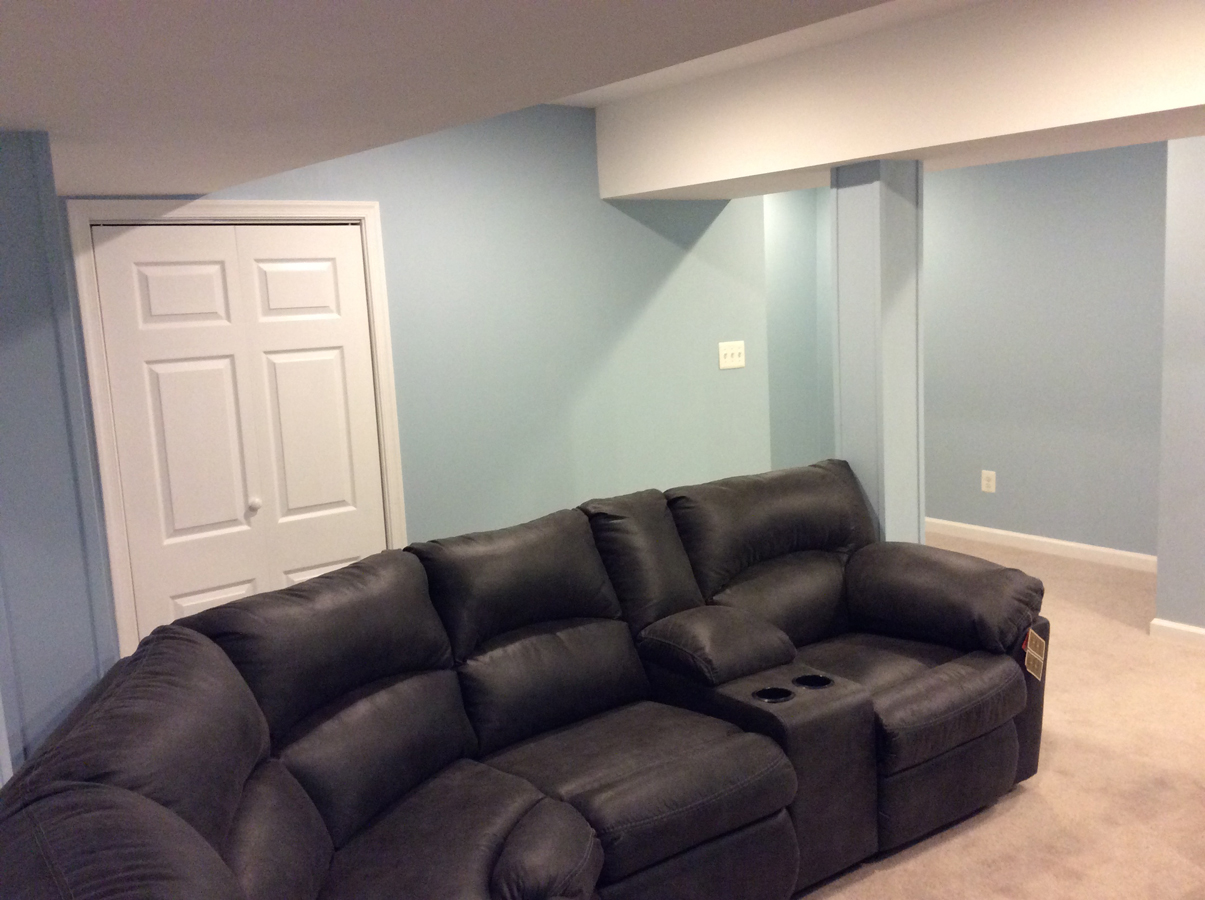 basement home remodeling Harford County