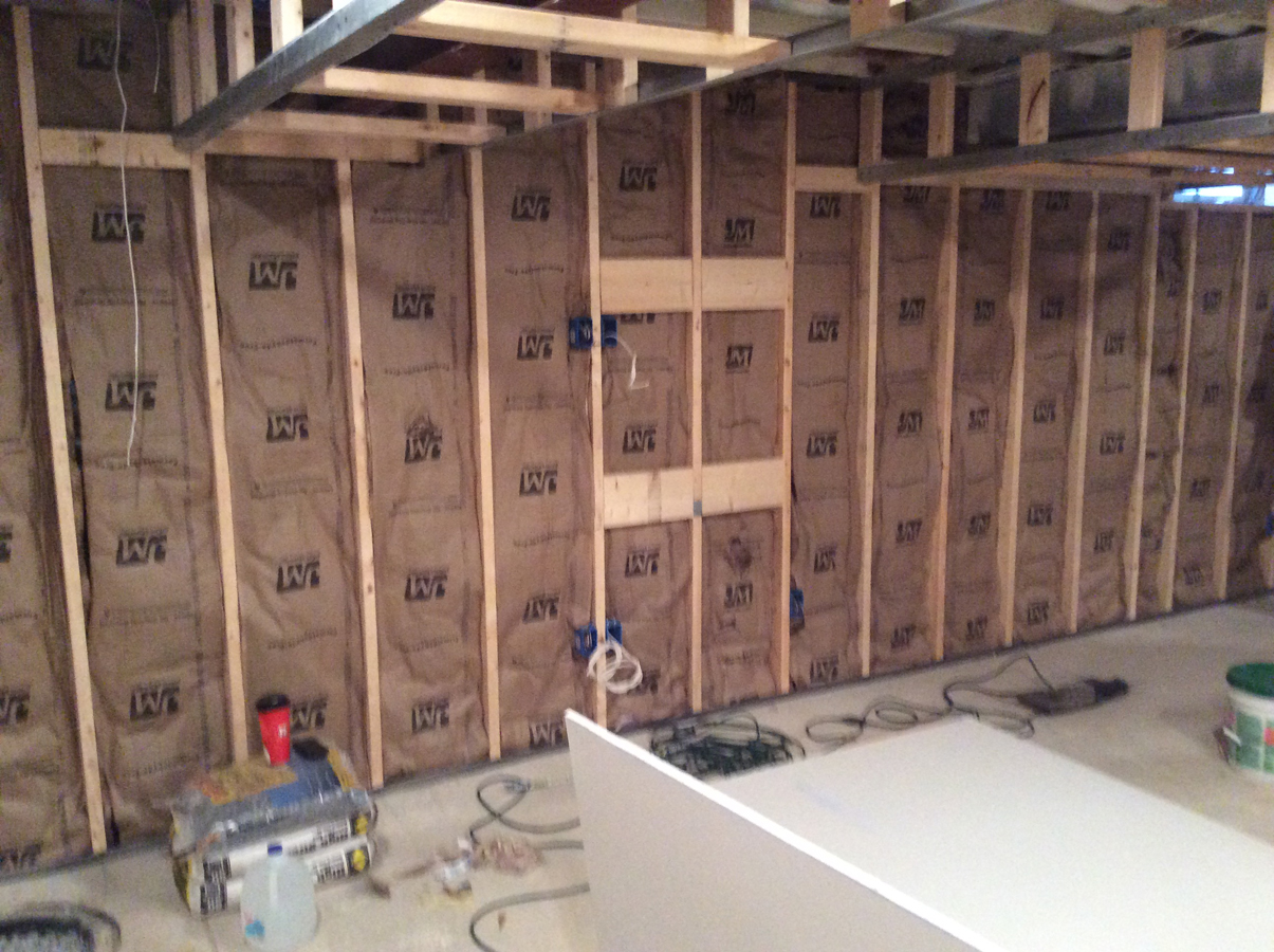 Harford County basement home remodeling