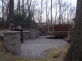 Walkway installation in Baltimore County