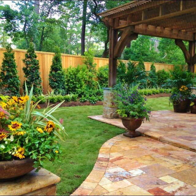 Make Your Backyard Private And Beautiful Excel Fencing