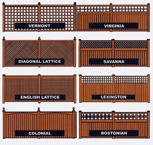 There Are A Variety Of Styleaterials For These Fences To Make It Fit With Your Home Also Countless Ways E Up Fence