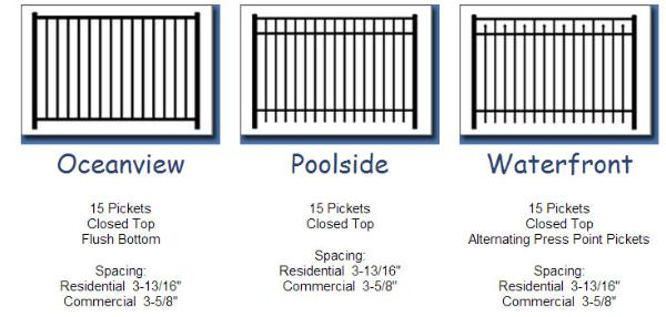 Aluminum Fencing Types in Anne Arundel County, MD