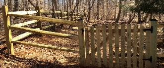 Wood Fence Installation in Baltimore