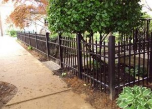aluminum fence builder in Baltimore