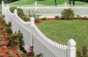 Vinyl fencing is a wonderful option for your yard.
