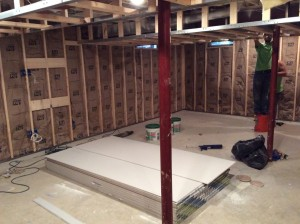 Basement Remodeling Bel Air Baltimore Before