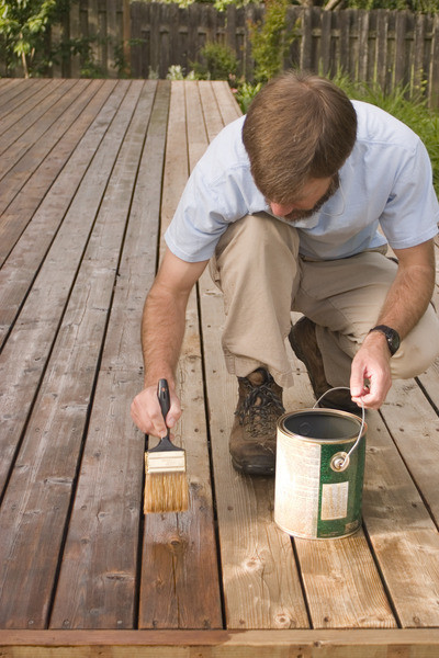 wood deck baltimore county
